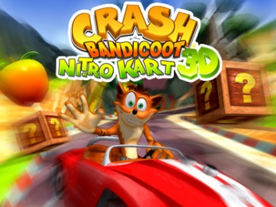 Crash Bandicoot Nitro Kard 3D - Zeebo Porting